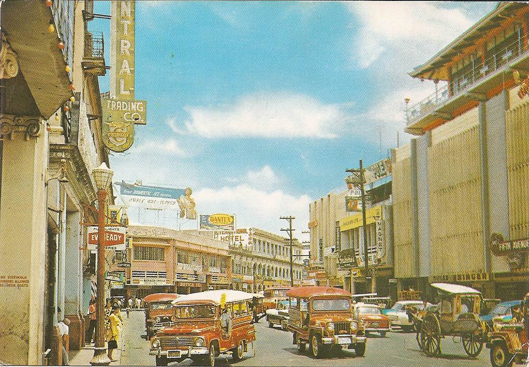 Postcard from Manila 21st July 1992