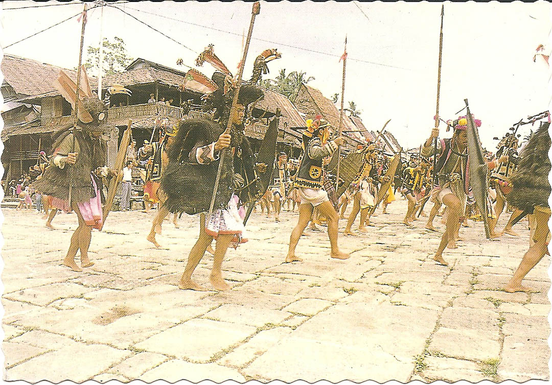 Postcard from Nias Island 24th April 1992