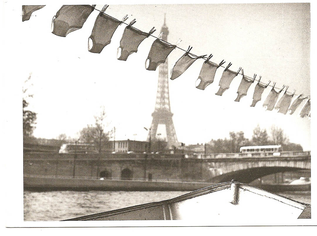 Postcard from Paris 7th November 1988
