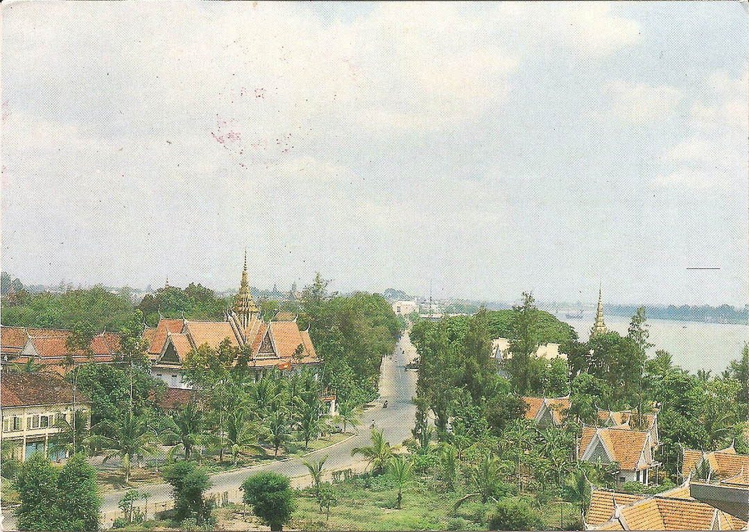Postcard from Phnom Penh 25th October 1992