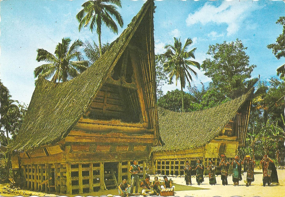 Postcard from Sibolga 20th April 1992