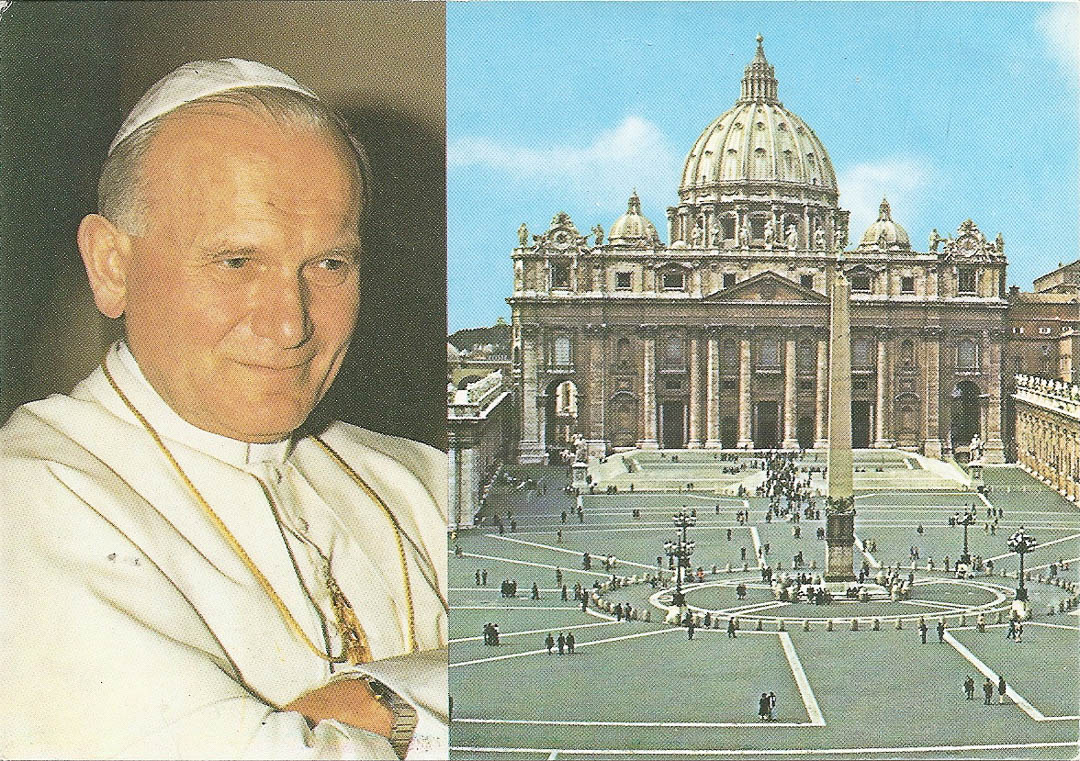 Postcard from Vatican City 15th February 1989