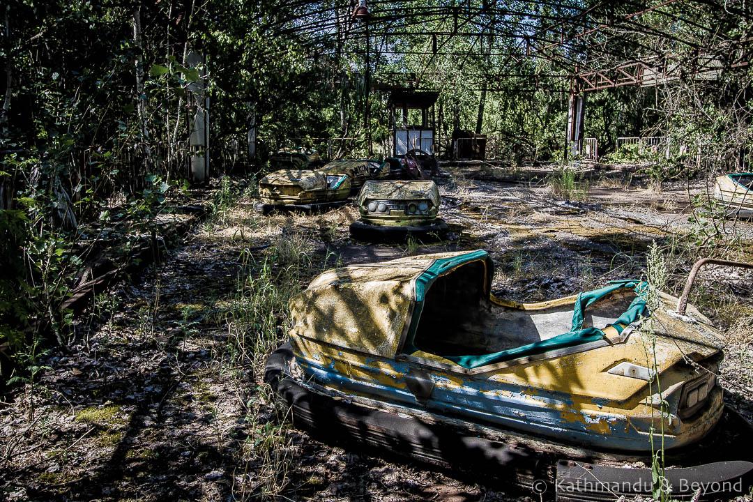 Amusement Park Pripyat town Chernobyl Exclusion Zone Ukraine-1