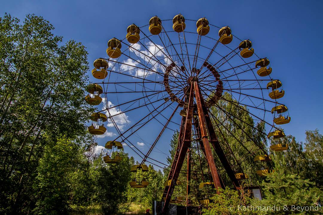 Amusement Park Pripyat town Chernobyl Exclusion Zone Ukraine-14