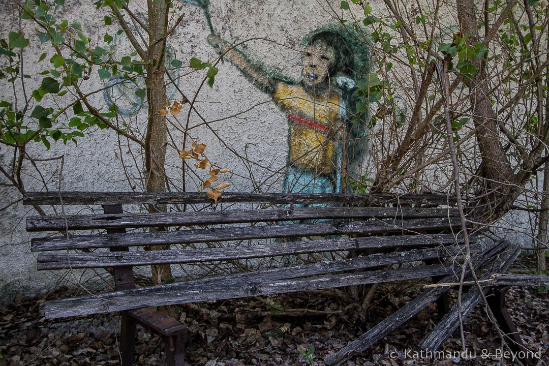 Amusement Park Pripyat town Chernobyl Exclusion Zone Ukraine-8