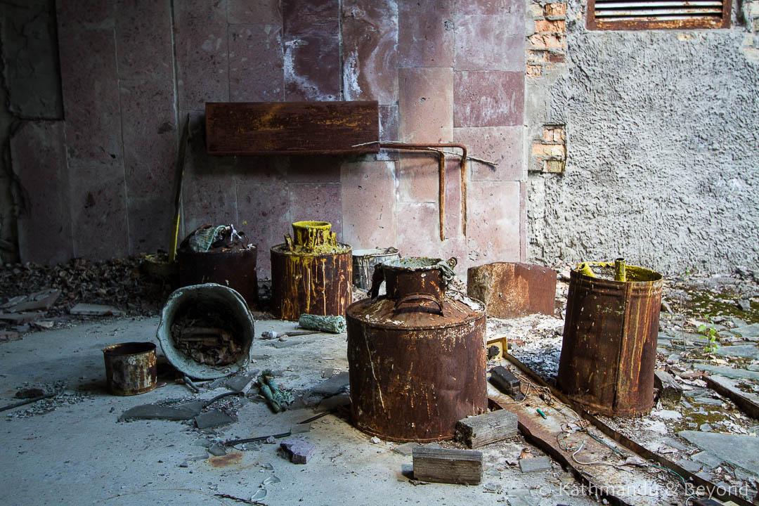 Avanhard Stadium Pripyat town Chernobyl Exclusion Zone Ukraine-3