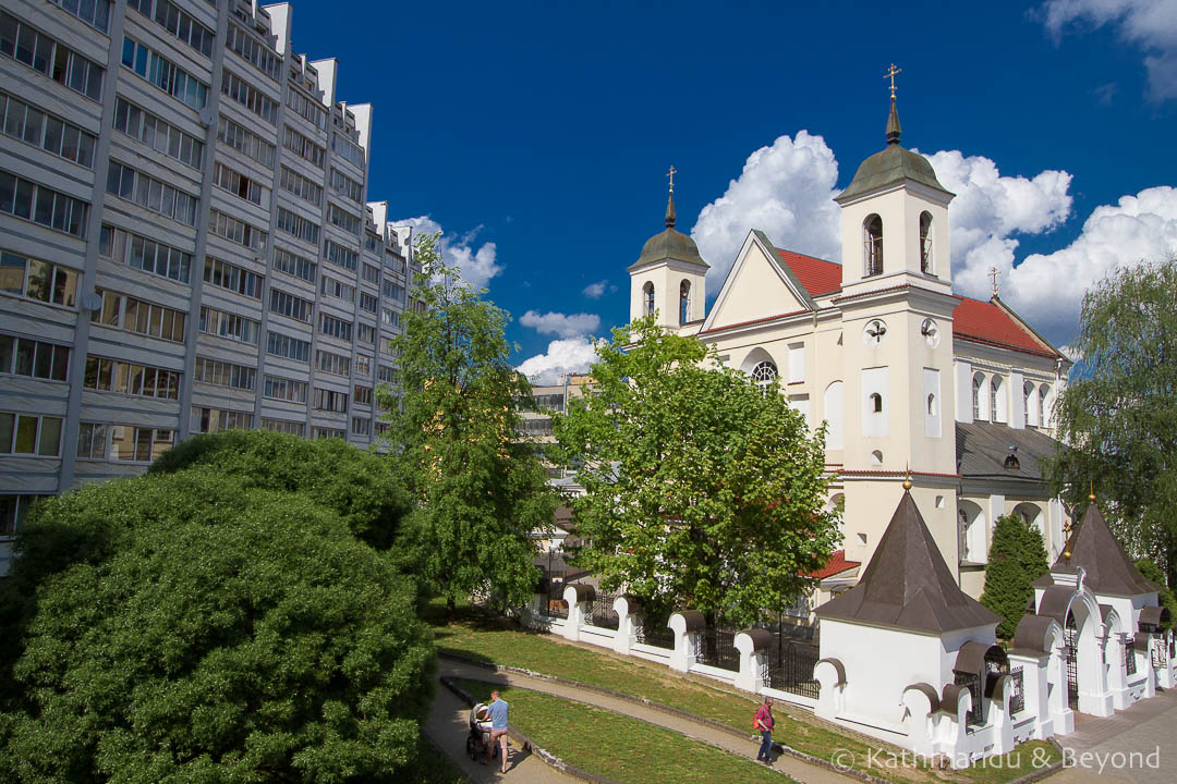Church of Saint Peter and Saint Paul Minsk Belarus-1