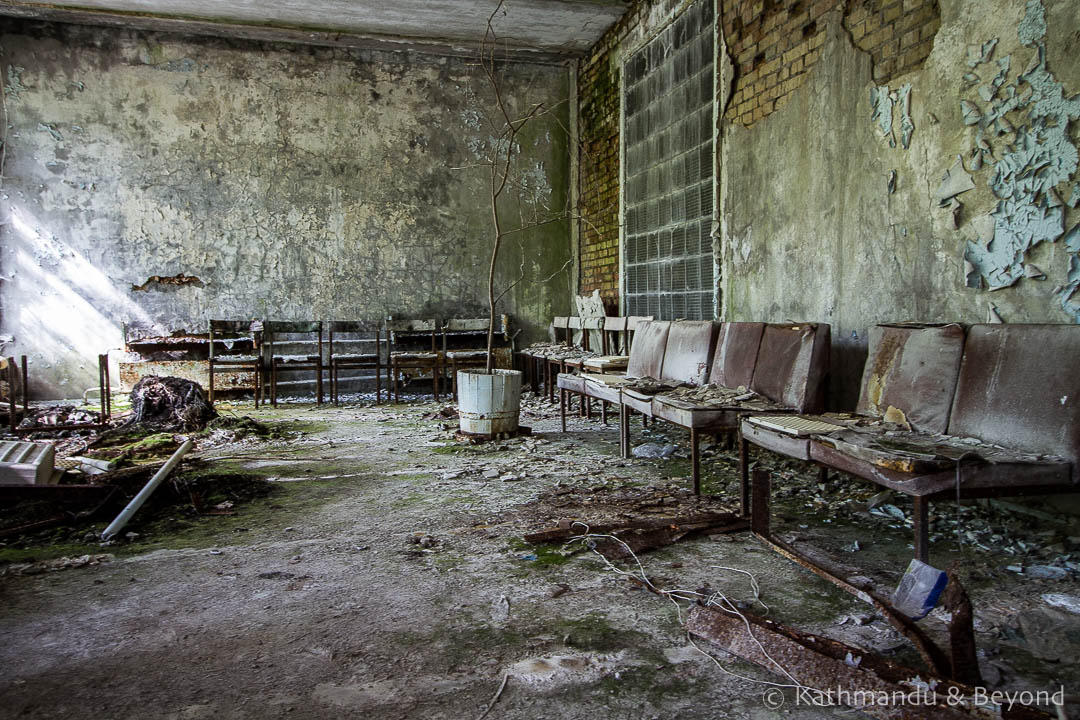 City Hospital No. 126 Pripyat town Chernobyl Exclusion Zone Ukraine-2