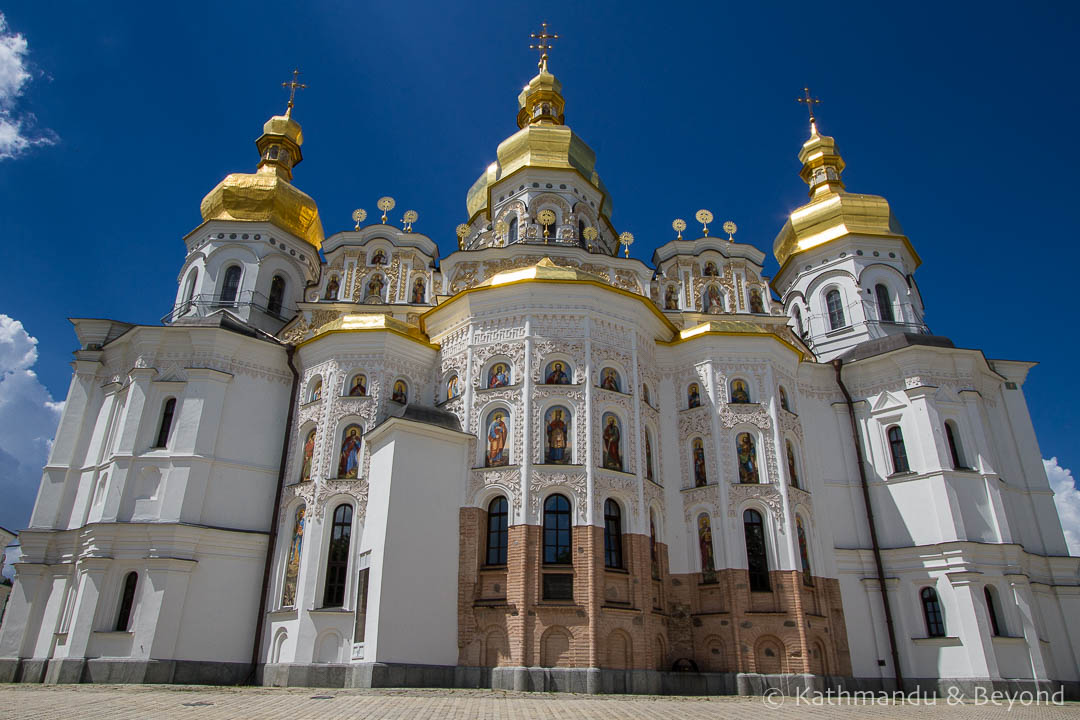 Places to visit in Kiev - Dormition Cathedral Kievo-Pecherskaya Lavra, Kiev, Ukraine