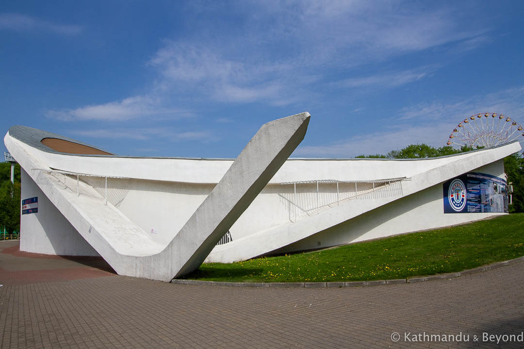 Hockey Club Youth-Minsk in Minsk, Belarus | Modernist | Soviet architecture | former USSR