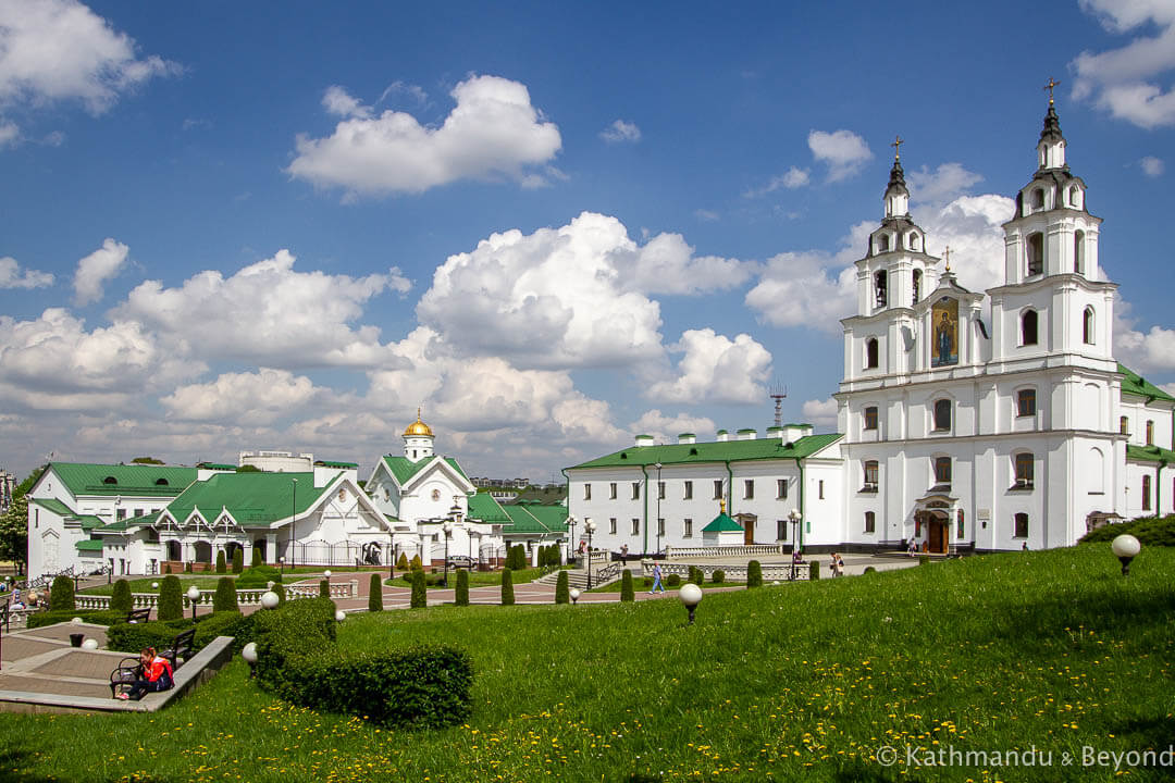 Holy Spirit Cathedral Svobody Square (Upper Town) Minsk Belarus-1-2-2