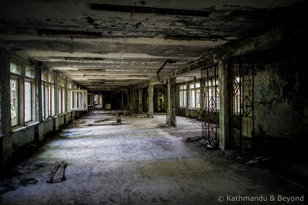Middle School Number 3 Pripyat town Chernobyl Exclusion Zone Ukraine-1
