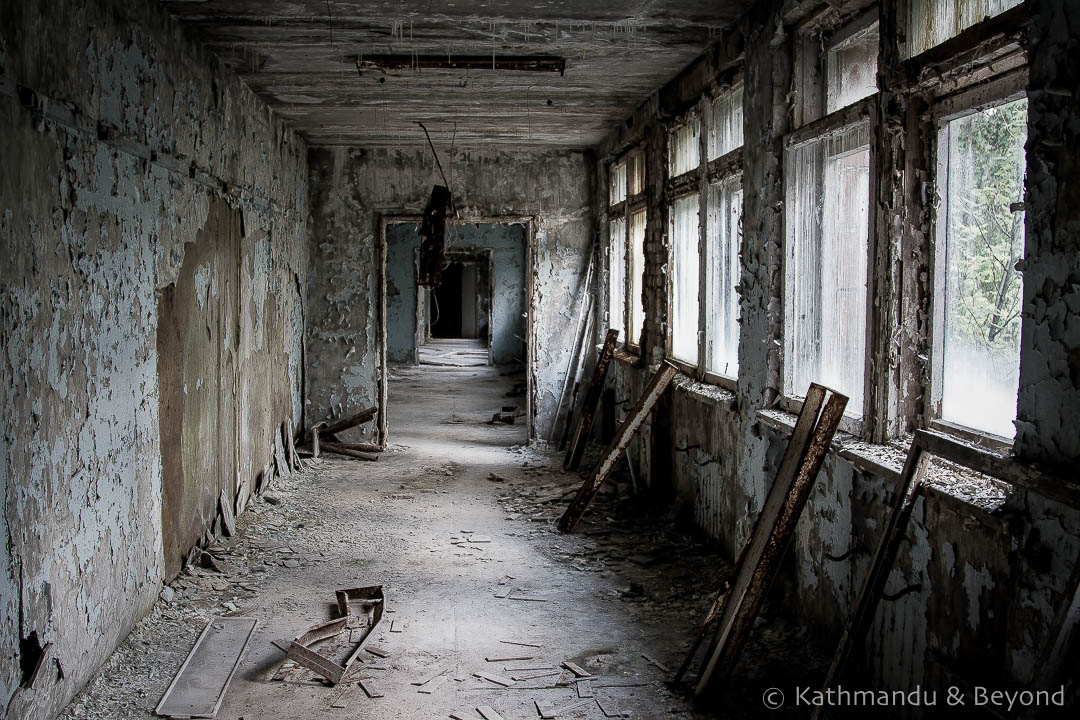 Middle School Number 3 Pripyat town Chernobyl Exclusion Zone Ukraine-12