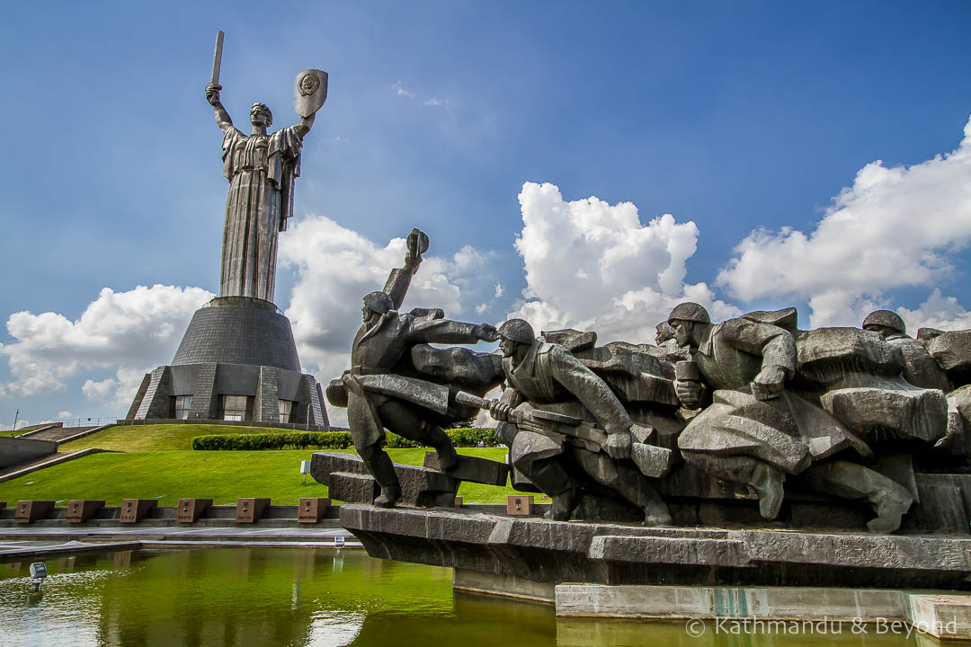 Museum of The History of Ukraine in World War II Memorial Complex Kiev Ukraine-3-2