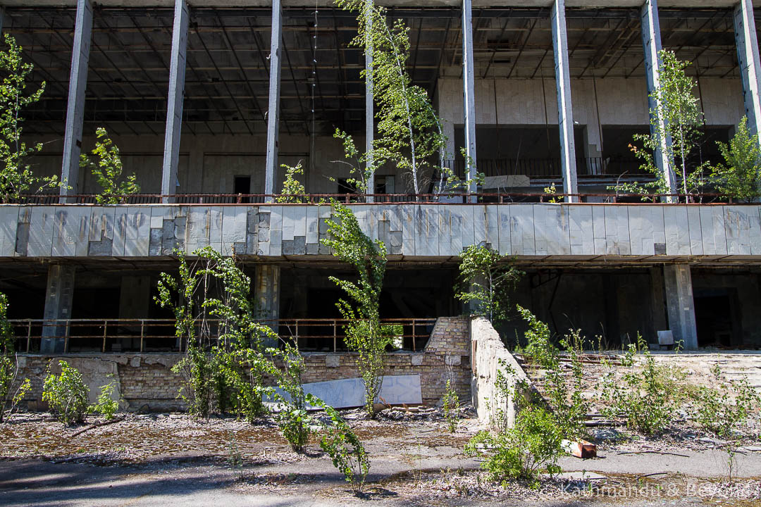 Palace of Culture Energetik Pripyat town Chernobyl Exclusion Zone Ukraine-1