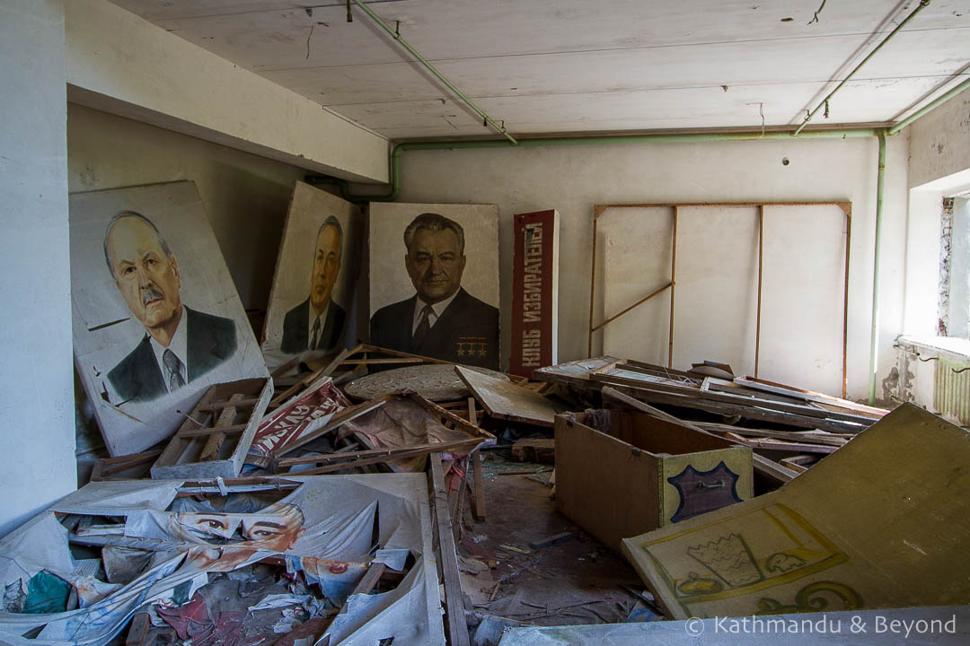 Palace of Culture Energetik Pripyat town Chernobyl Exclusion Zone Ukraine-5
