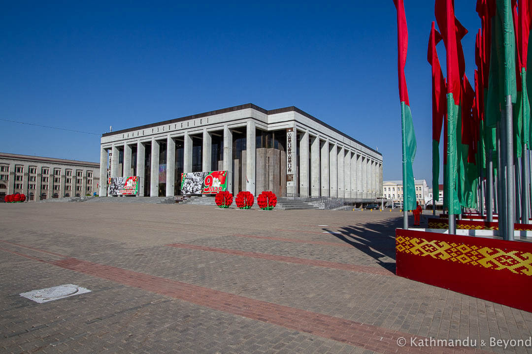 Palace of the Republic October Square Minsk Belarus-5-2