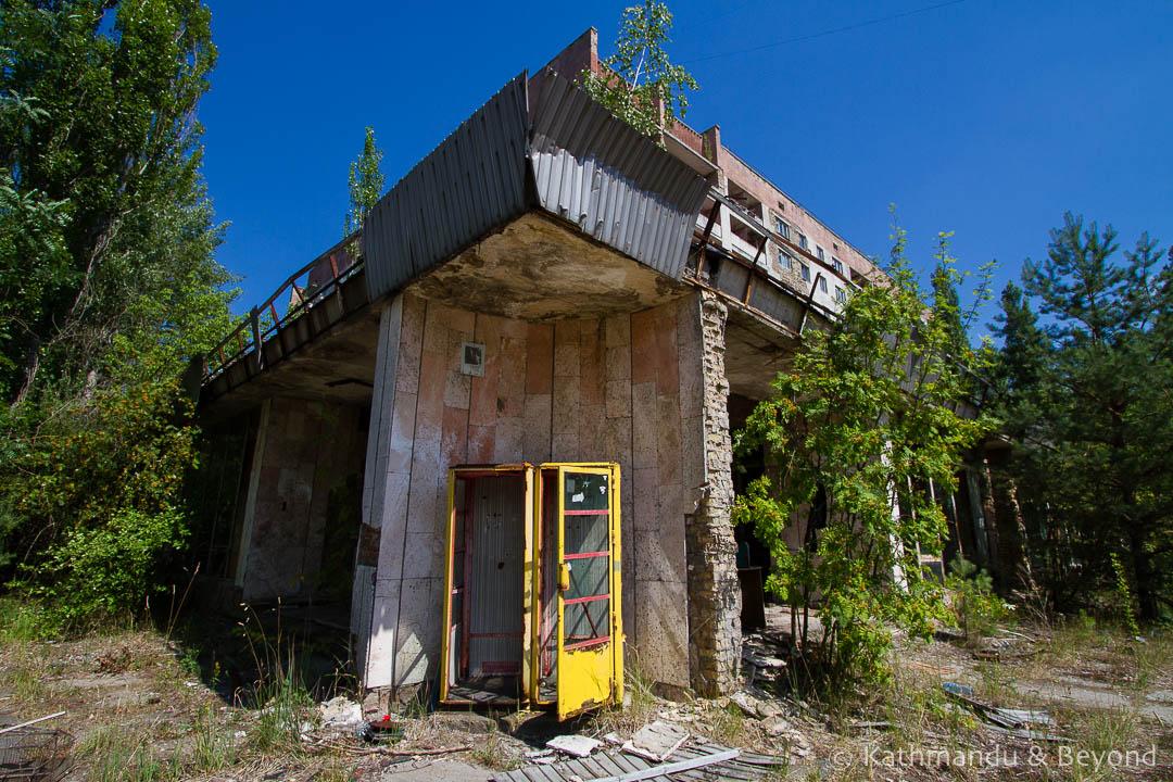 Pripyat town Chernobyl Exclusion Zone Ukraine-5