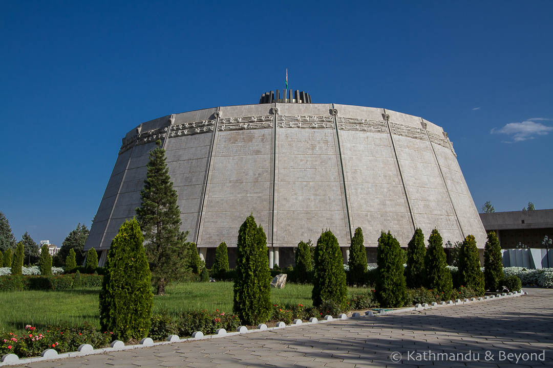 Concert Palace of Dushanbe in Dushanbe, Tajikistan | Brutalist | Soviet architecture | former USSR