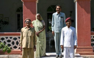 Travel Shot | Friendly Staff at Orchard Palace in Gondal, India