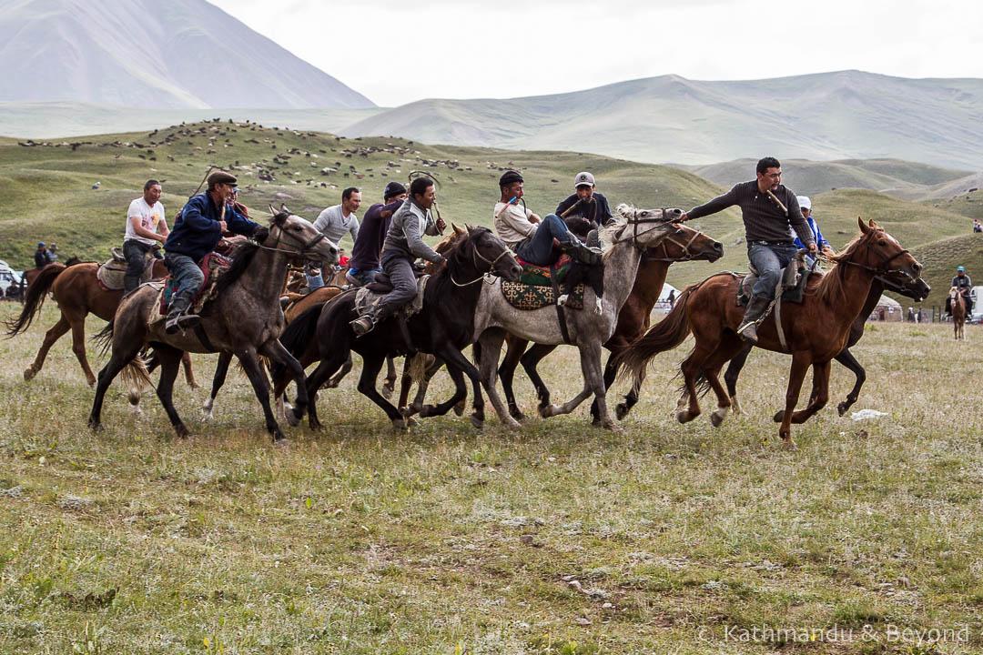 Kok Boru Horse Games Tulpar Kul (Achik-Tash) Kyrgyzstan-89