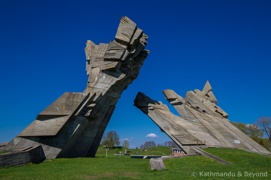 Memorial to the Victims of Nazism Ninth Fort Kaunas Lithuania-1-2