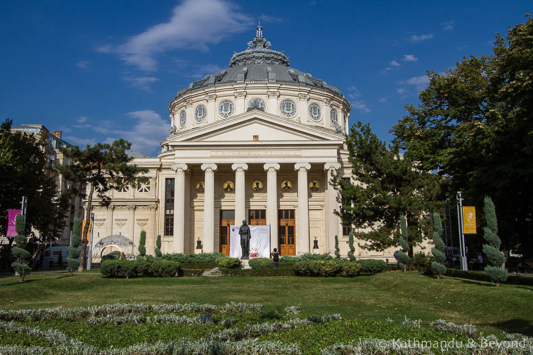 Romanian Athenaeum Bucharest Romania-5