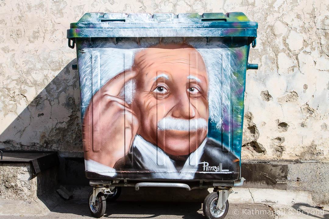 Einstein Street Art in Sofia | Bulgaria