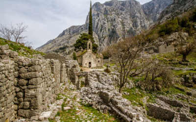 Travel Shot | St. George Church on St. John Mountain in Kotor | Montenegro
