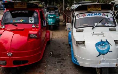 Uber-Cool Tuk-Tuk – Ayutthaya's wacky motorised 3-wheelers