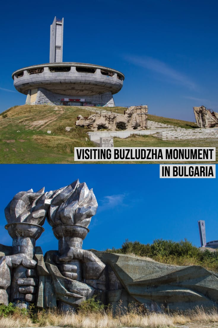 Visiting Buzludzha Monument - Communist Party HQ in #Bulgaria #travel #monuments