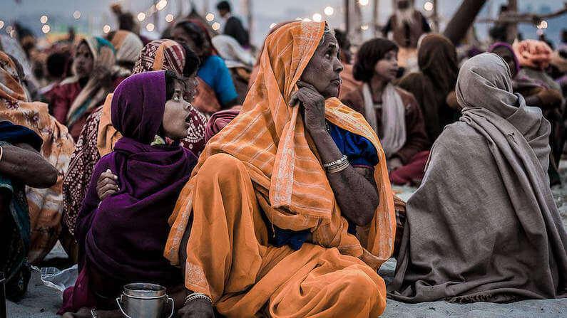 Travel Shot | Expectant Faces at the Maha Kumbh Mela