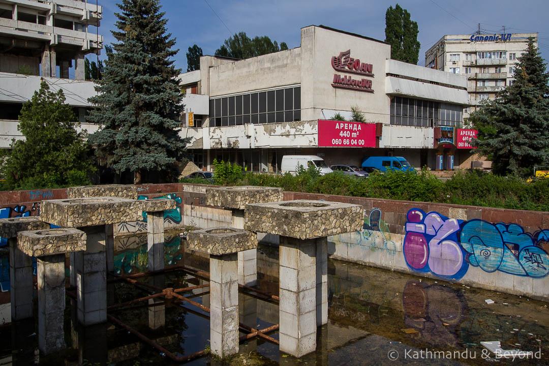 Former Moldova Tur office Chisinau Moldova-1
