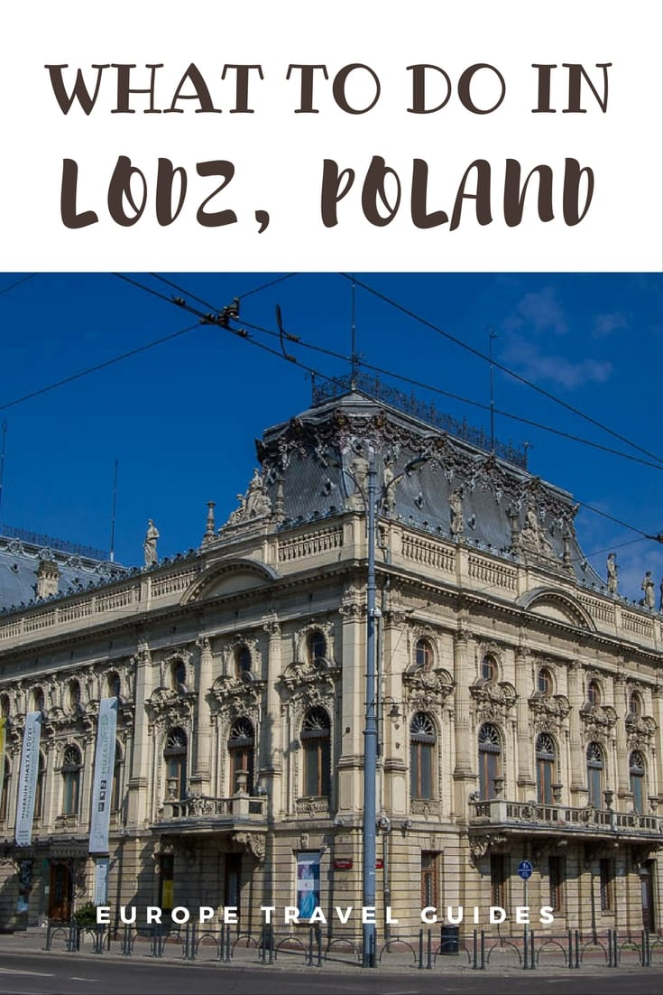 How to spend a few days in Lodz, Poland. A guide for independent travellers_ A self-guided walking tour of the significant sights in Lodz #travel #europe