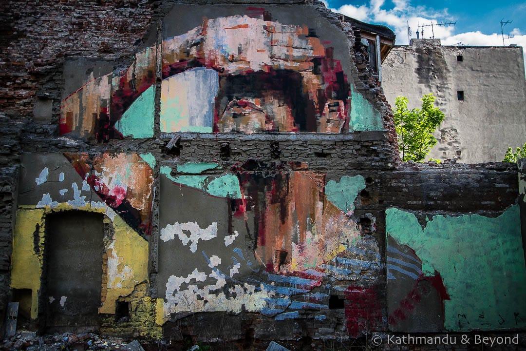 Street Art in Lodz Poland-2