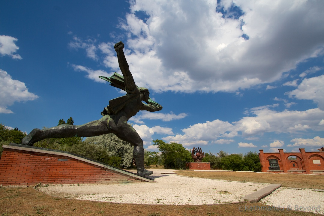 Republic of Councils Monument (Memento Park) in Budapest, Hungary | Communist monument | former Eastern Bloc