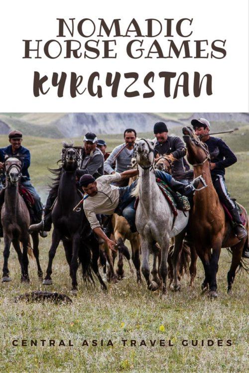 Nomadic Horse Games KYRGYZSTAN PinIt 1