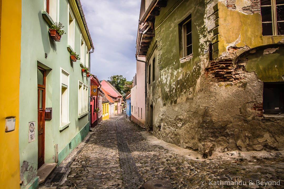 Old Town (Citadel) Sighisoara Romania-4-2