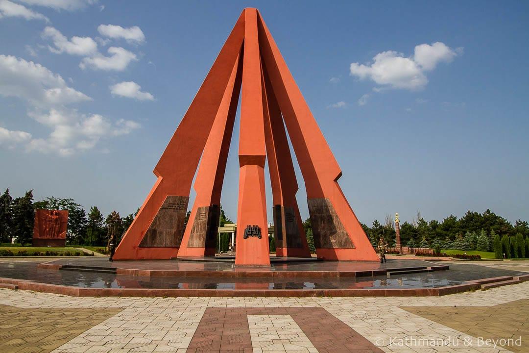 Eternity Memorial Complex (Victory Memorial) in Chisinau, Moldova   Soviet memorial   former USSR