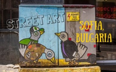 Electric Utility Box Art | Street Art in Sofia, Bulgaria