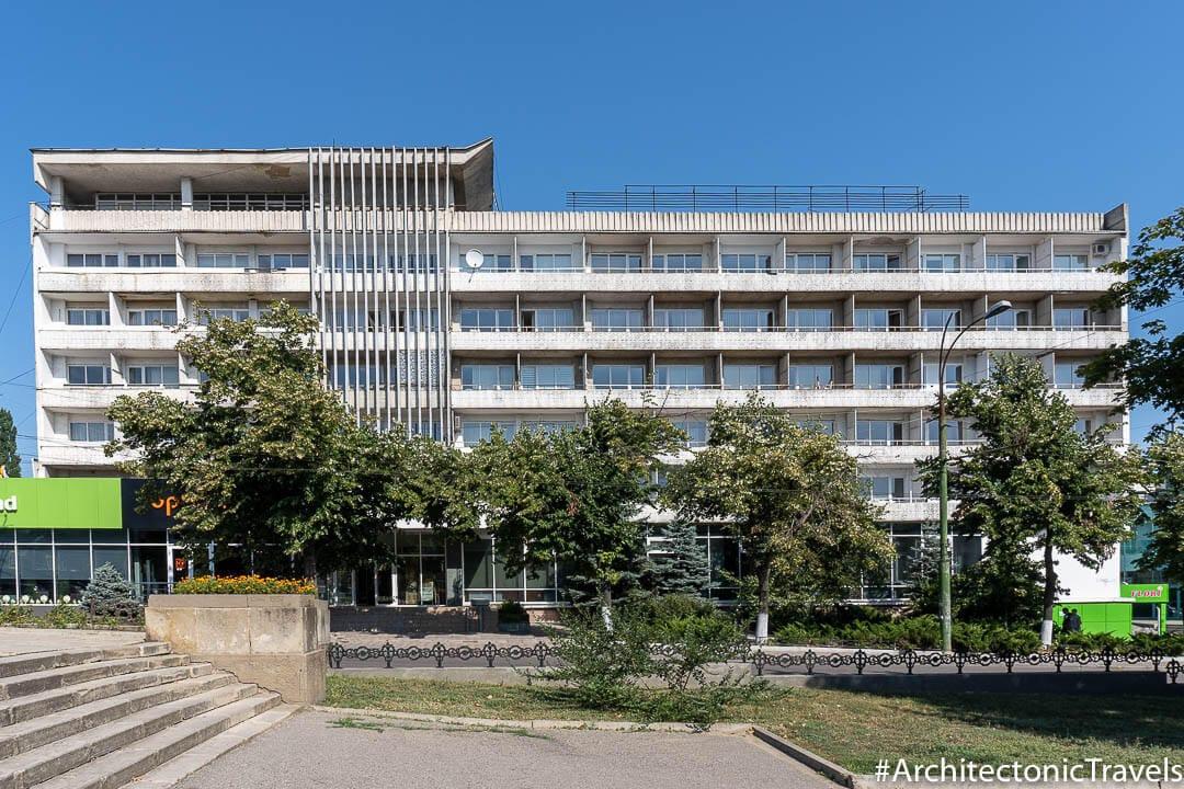 Hotel Turist in Chisinau, Moldova | Modernist | Soviet architecture | former USSR