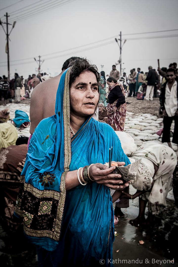 Faces of India at the Maha Kumbh Mela, Sangam, Allahabad, India