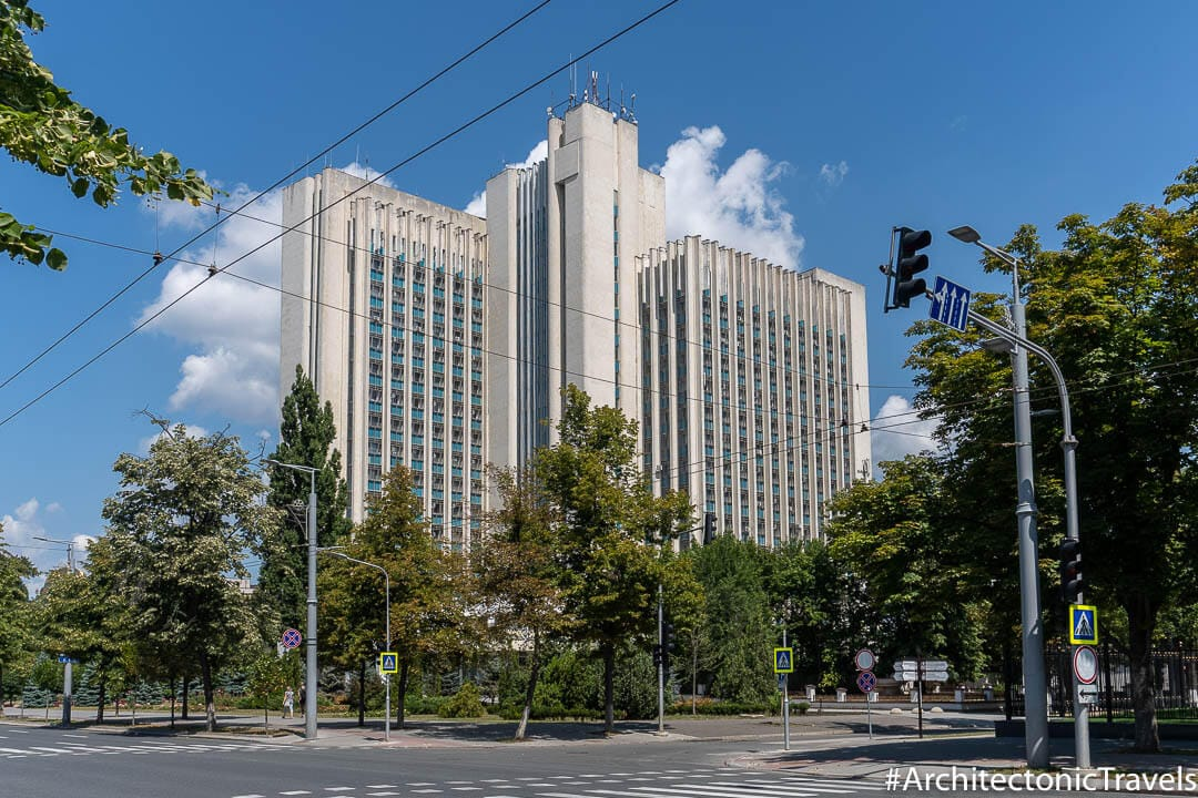 Ministry of Agriculture and Food Industry of the Republic of Moldova in Chisinau, Moldova | Modernist | Soviet architecture | former USSR