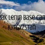 Staying at Peak Lenin Base Camp in Kyrgyzstan