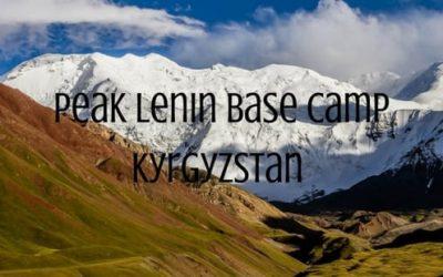 Staying at Peak Lenin Base Camp in Kyrgyzstan