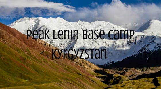 Peak Lenin Base Camp Kyrgyzstan