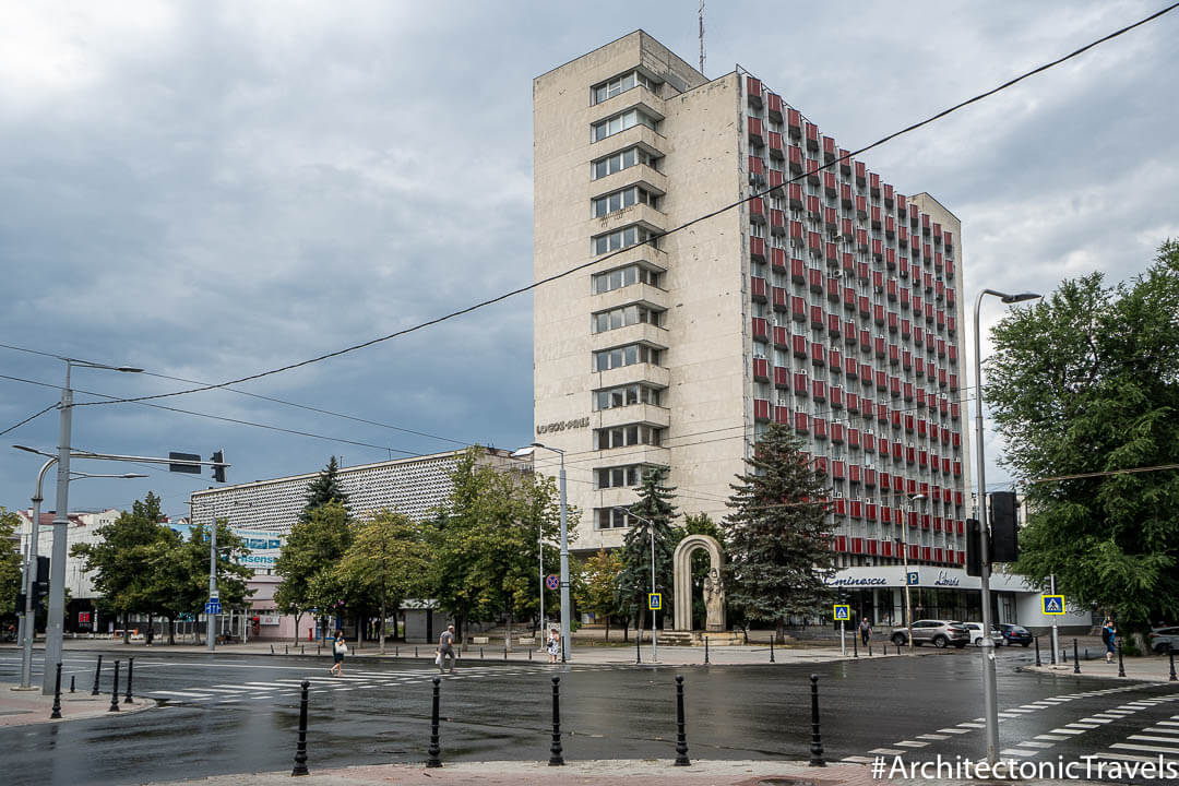 Publishing House (formerly House of Languages) in Chisinau, Moldova |Modernist | Soviet architecture | former USSR