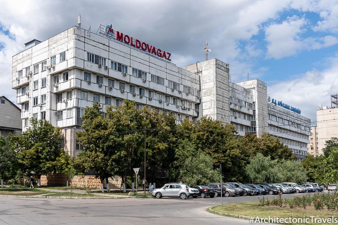 S.A. Moldovagaz in Chisinau, Moldova | Modernist | Soviet architecture | former USSR