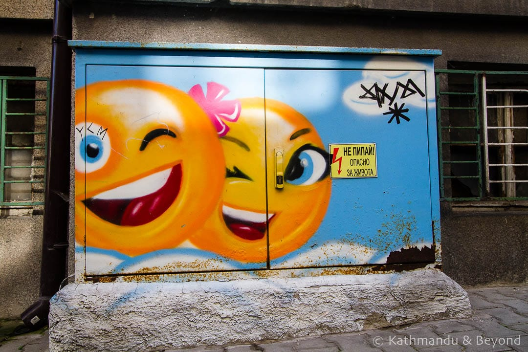 Electric Utility Box Art | Street Art in Sofia, Bulgaria