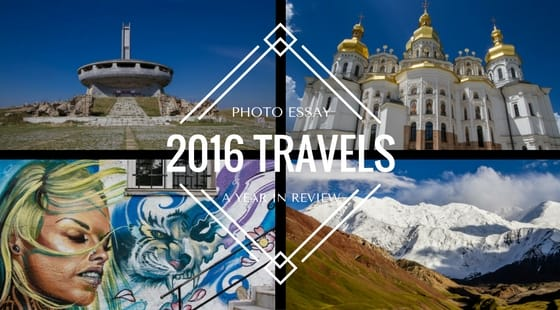 2016 Travel Review in Photographs